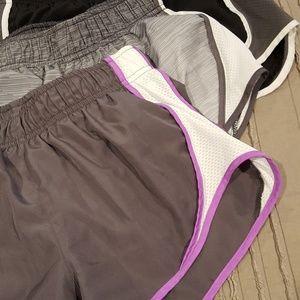 3 pair SO workout shorts